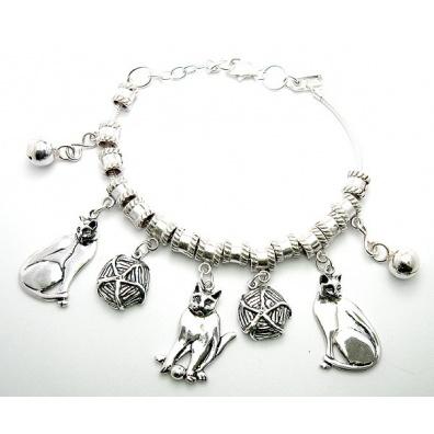 Zilveren bedel armband