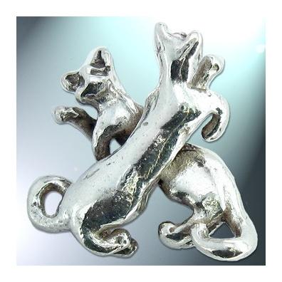 X - Het alfabet in zilver