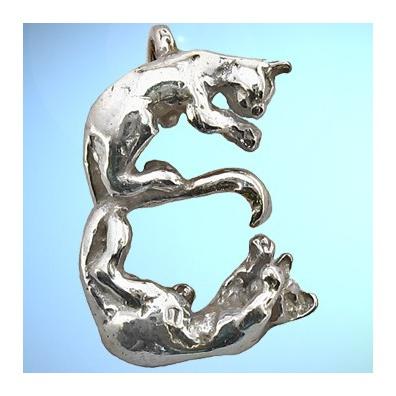 E - Het alfabet in zilver