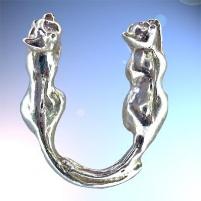 U - Het alfabet in zilver